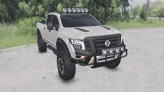 Nissan Titan Warrior concept Ձ016 pour Spin Tires