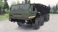 KrAZ-7E-6316 Сибиƥь pour Spin Tires