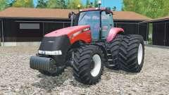 Case IH Magnum 380 CVT rear twin wheels für Farming Simulator 2015