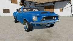 Shelby GT500 1968 v2.2 für Farming Simulator 2017