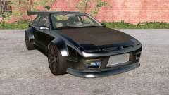 Ibishu 200BX Black on Black v3.0 pour BeamNG Drive