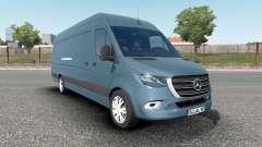 Mercedes-Benz Sprinter VS30 Van 316 CDI 2019 pour Euro Truck Simulator 2