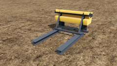 Rear Ballast Set from 0,5 to 5 tons pour Farming Simulator 2017