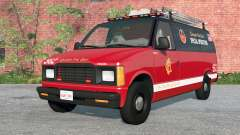 Gavril H-Series Chicago Fire Department v1.2 pour BeamNG Drive