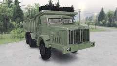 MAZ-530 couleur verte pour Spin Tires