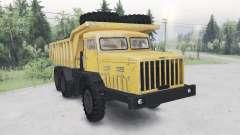 MAZ-530-Farbe gelb für Spin Tires