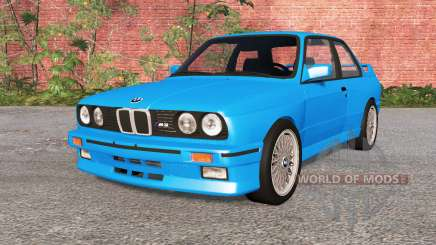 BMW M3 coupe (E30) 1990 für BeamNG Drive