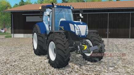 New Holland T7.270 Bleu Poweᶉ pour Farming Simulator 2015