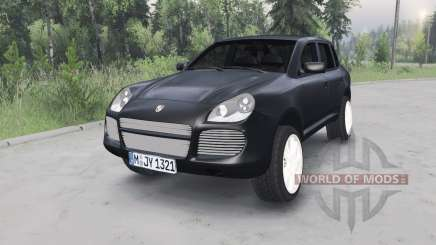 Porsche Cayenne Turbo (955) 2003 pour Spin Tires