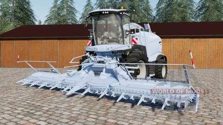 Krone BiG Ӽ 1100 pour Farming Simulator 2017
