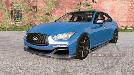 Infiniti Q50 Eau Rouge (V37) 2014 für BeamNG Drive