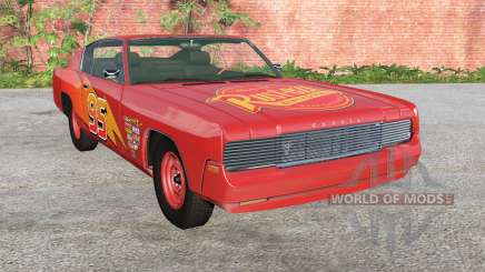 Gavril Barstow Lightning McQueen pour BeamNG Drive