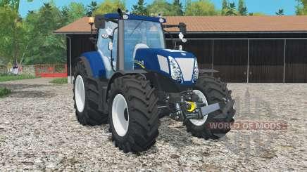 New Holland T7.270 Bleu Poweᵲ pour Farming Simulator 2015