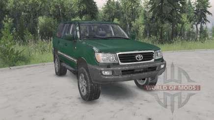 Toyota Land Cruiser 100 VX 2005 v1.2 für Spin Tires