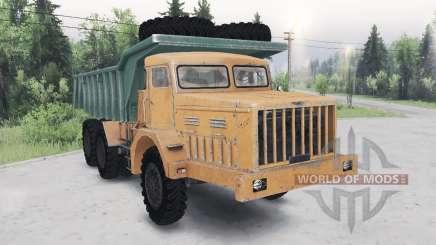 MAZ-530 grün-orange für Spin Tires