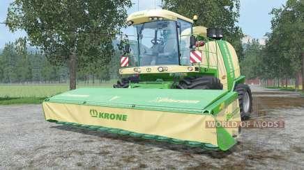 Krone BiG X 1100 change capacity für Farming Simulator 2015