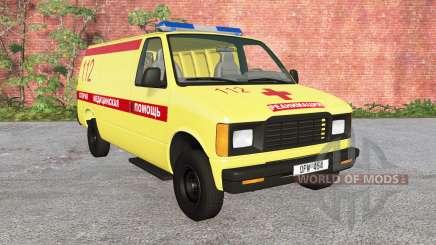 Gavril de la Série H Ambulance v1.2 pour BeamNG Drive
