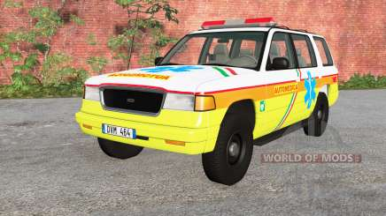 Gavril Roamer Automedica v2.2 pour BeamNG Drive