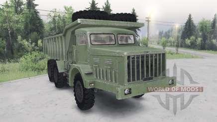 MAZ-530 grün Farbe für Spin Tires