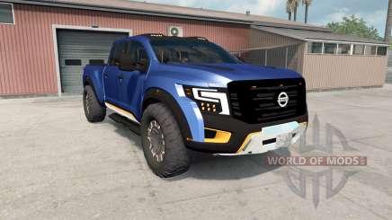 Nissan Titan Warrior concept 2016 pour American Truck Simulator