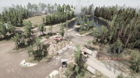 Push-pull pour Spintires MudRunner