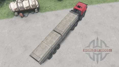 KamAZ-65228 pour Spin Tires