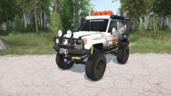 Toyota Land Cruiser Hard Top (J71) LX lifted pour MudRunner