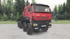 KamAZ-6522৪ für Spin Tires