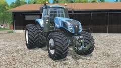 New Holland T8.ƺ20 pour Farming Simulator 2015