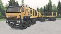 KamAZ-652Ձ8 für Spin Tires