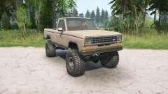 Ford Ranger Regular Cab Styleside 1983 für MudRunner
