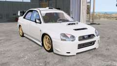 Subaru Impreza WRX STi (GDB) 2004 pour BeamNG Drive