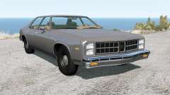 Bruckell Moonhawk sedan pour BeamNG Drive