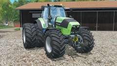 Deutz-Fahr 7250 TTV Agrotron rear twin wheels pour Farming Simulator 2015