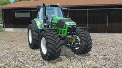 Deutz-Fahr 7250 TTV Agrotroƞ pour Farming Simulator 2015