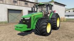 John Deere 8245R-8400Ɽ pour Farming Simulator 2017