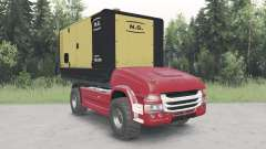 Sans pilote de camion Scania pour Spin Tires