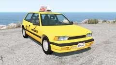 Ibishu Covet New York Taxi für BeamNG Drive
