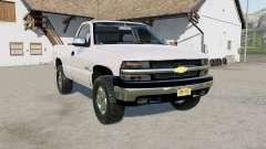Chevrolet Silverado 1500 Regular Cab 1999 pour Farming Simulator 2017