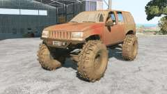 Jeep Grand Cherokee (ZJ) 1994 Trail pour BeamNG Drive