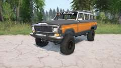 Jeep Grand Wagoneer 1991 pour MudRunner