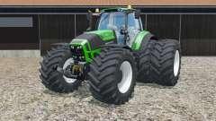Deutz-Fahr 7250 TTV Agrotron Green Edition pour Farming Simulator 2015