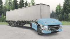 Sans pilote de camion Scania 4x4 v2.1 pour Spin Tires