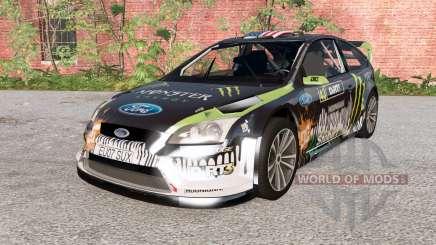 Ford Focus RS WRC (DA3) 2010 für BeamNG Drive