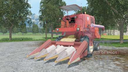 Bizon Super Z0ⴝ6 pour Farming Simulator 2015
