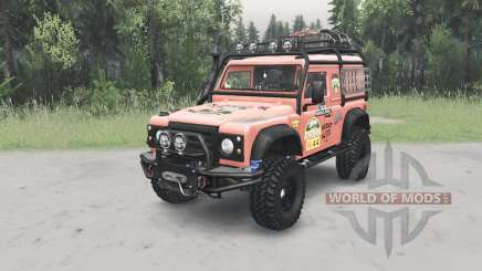 Land Rover Defender ୨0 pour Spin Tires