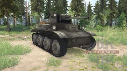 Light Tank Mk.VII (A17) Tetrarch pour MudRunner