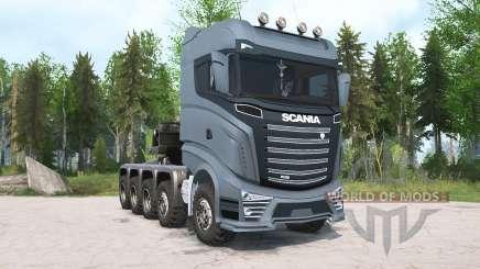 Scania R1000 10x10 für MudRunner