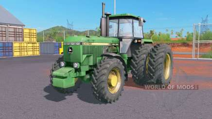 John Deere 4000-series für Farming Simulator 2017
