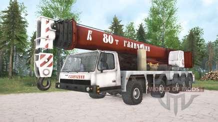 MZKT-790200 KS-74713 Galizisch für MudRunner
